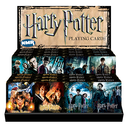 harry potter movie posters 24 playing card pack counter