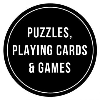 Puzzles, Playing Cards & Games