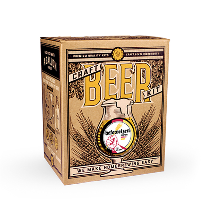 Hefeweizen Craft Beer Brewing Kit