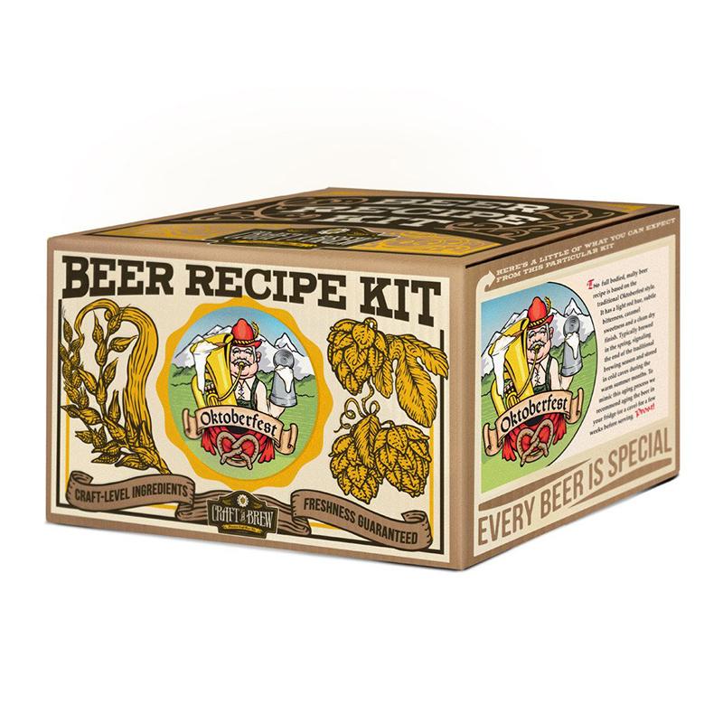 craft a brew oktoberfest ale beer recipe refill kit. Black Bedroom Furniture Sets. Home Design Ideas