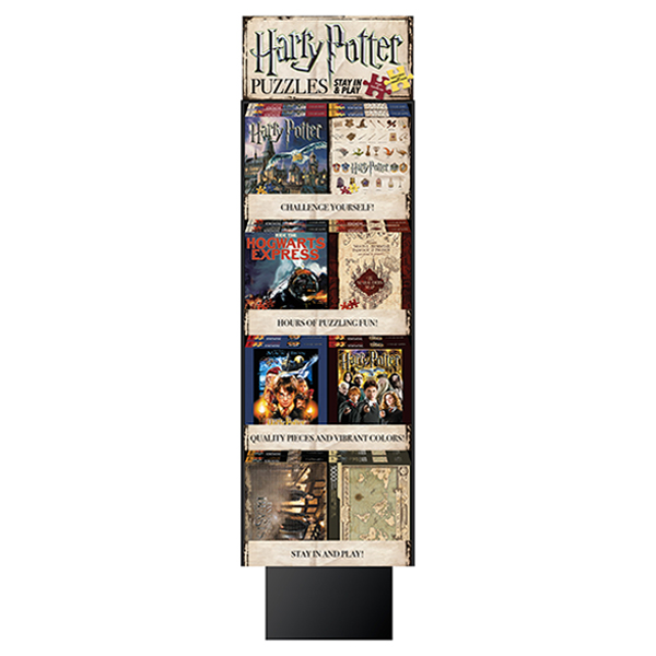 Exhibition Stand Crossword Clue : Unit harry potter pc puzzle display stand william