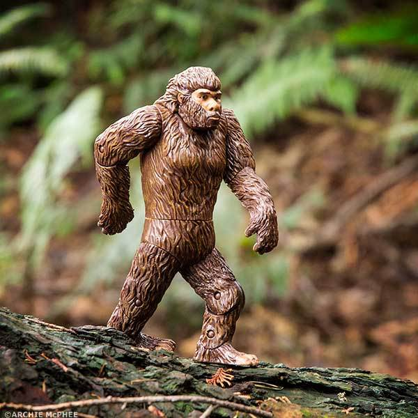 Action Figures & Statues Accessories Accoutrements Bigfoot Action Figure Archie McPhee 12458