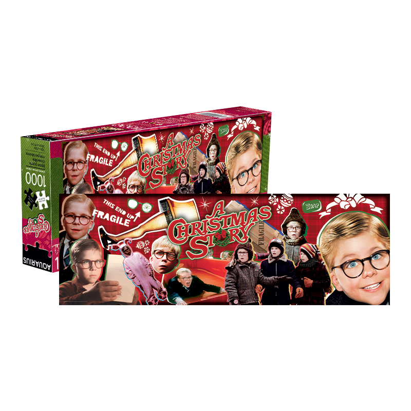 A Christmas Story 2019.A Christmas Story 1 000 Pc Slim Puzzle Min 3 William