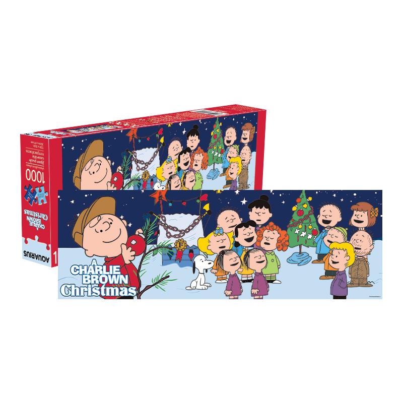 Charlie Brown Christmas 2019.Charlie Brown Christmas 1 000 Pc Slim Puzzle Min 3 William