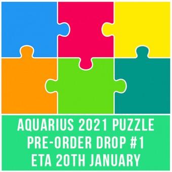 AQUARIUS 2021 PUZZLE PRE-ORDER DROP #1 - ETA 20th JAN