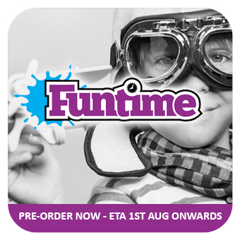 FUNTIME - NEW Q3 PRODUCTS PRE-ORDER - ETA 1st AUG ONWARDS