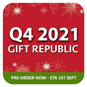 GIFT REPUBLIC - NEW Q3 PRODUCTS PRE-ORDER - ETA 1st SEPT